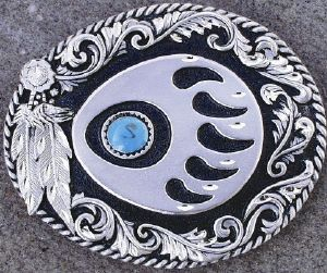 ef849352e1d Boucle de ceinture patte d ours - vente de boucle de ceinture indien