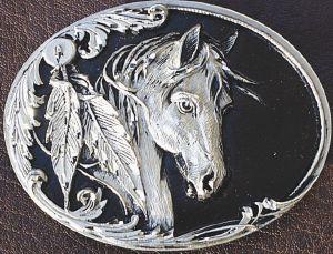 Vente de boucle de ceinture motif cheval de mode country western 05d2a9cab95