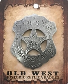 Badge MARSHALL OLD WEST - BGE-43