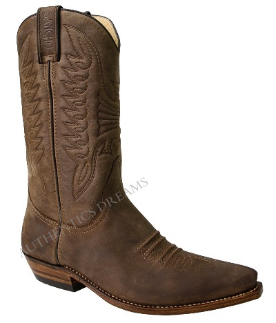 Bottes 218 MAYURA Crazy Old MARRON 20