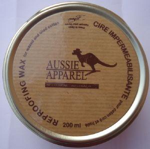 Cire imperm abilisante pour coton huil entretien parfait - Produit entretien cuir ...