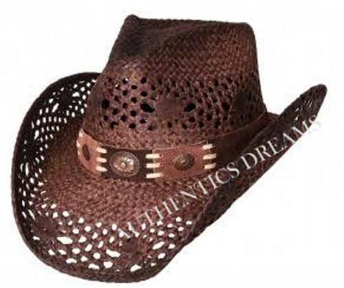 Chapeau Cow Boy  PURE COUNTRY MARRON