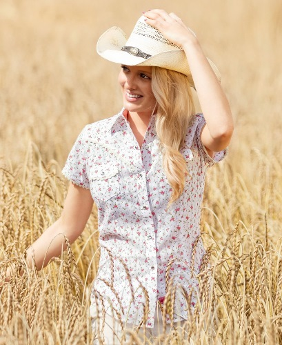 Chemise country JEANETTE