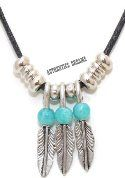 Collier TRIO PLUMES N-2279