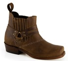 Bottines 205 TAURO Marron 4