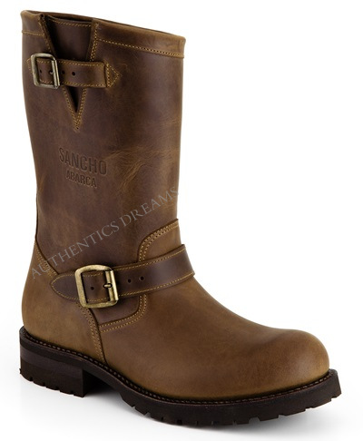 Bottines ENGINEER II Marron