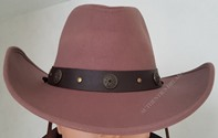 Chapeau Cowboy TEXAS MARRON